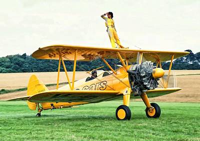 Photograph - Wingwalking by Paul Gulliver