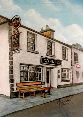 Winkles Pub Kinvera Ireland Original by Melinda Saminski