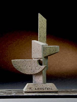 Sculpture - Winnebago Stela  by Richard Arfsten