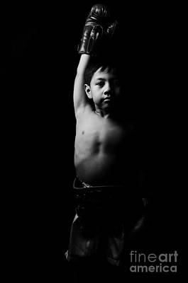 Kickboxer Photograph - Winner by Mystique Asian