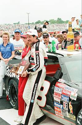 Nascar Racing Photograph - Winners Circle by Retro Images Archive