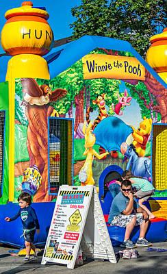 Winnie The No Pooh Art Print