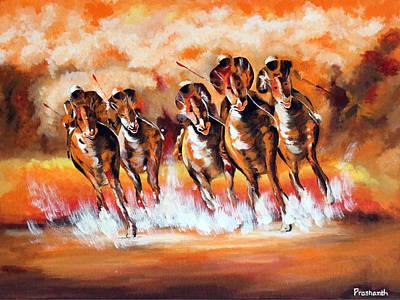 Winning Colors Art Print by Prashanth Bala Ramachandra