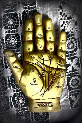 Winning Hand Art Print by Lynn Sprowl