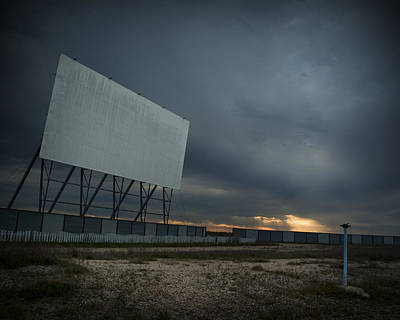 Winnipeg Photograph - Winnipeg Drive In by Bryan Scott