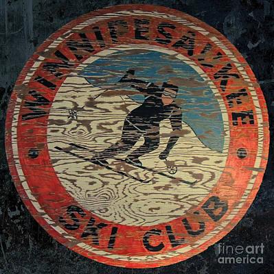 Winnipesaukee Ski Club 2 Art Print