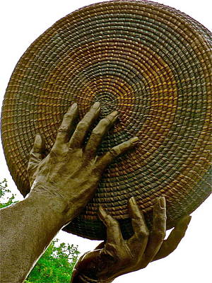 Photograph - Winnowing Hands by Jean Wright