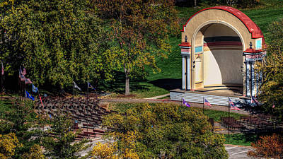 Photograph - Winona Bandshell by Al  Mueller