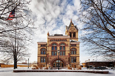 Photograph - Winona County Courthouse by Al  Mueller