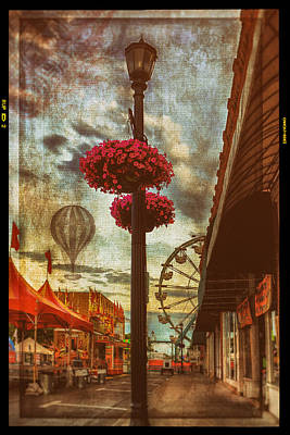 Balloon Flower Photograph - Winona Steamboat Days by Al  Mueller
