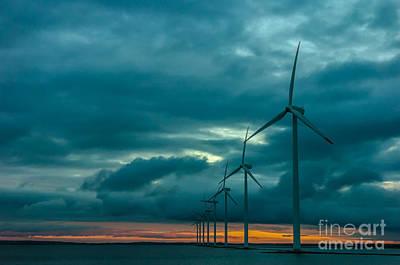 Photograph - Winpower by Jorgen Norgaard