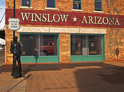 Art Print featuring the photograph Winslow Arizona by Bob Pardue