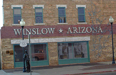 Winslow Arizona Art Print