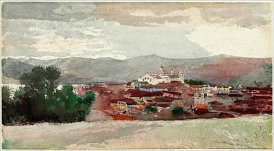 Winslow Homer, Santiago De Cuba, American Art Print by Quint Lox