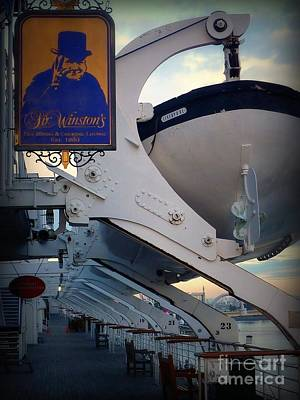Photograph - Winston Oversees Queen Life Boats by Susan Garren