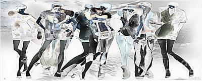 Digital Art - Winter 495-11-13 Marucii by Marek Lutek