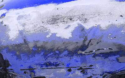 Digital Art - Winter Abstract by Fran Riley