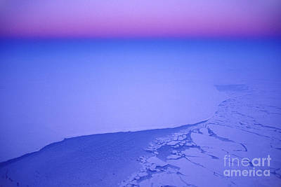 Photograph - Aerial View Over Greenland by Frans Lanting MINT Images