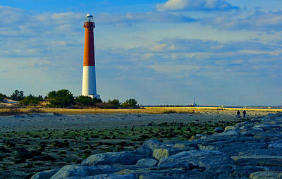 Photograph - Winter Afternoon At Barnegat Light by Kristia Adams