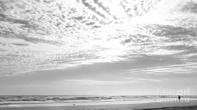 Photograph - Winter Afternoon St Augustine Anastasia Island Florida by Michelle Wiarda-Constantine