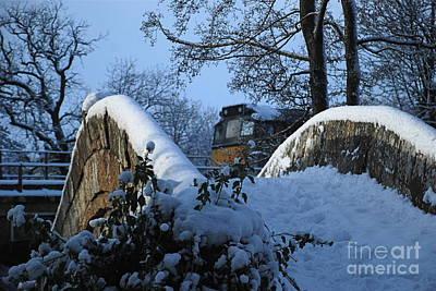 Photograph - Winter At Beggars Bridge by Doug Thwaites