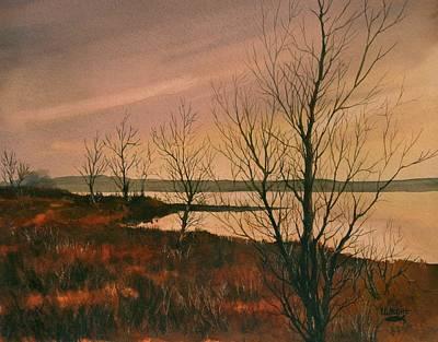 Winter At Lake Wilson Art Print
