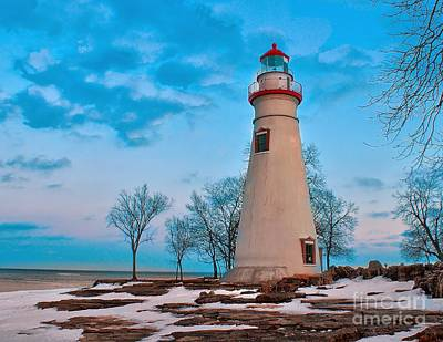 Photograph - Winter At Marblehead by Nick Zelinsky