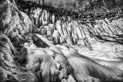 Photograph - Winter At Minnehaha Falls by Tom Gort
