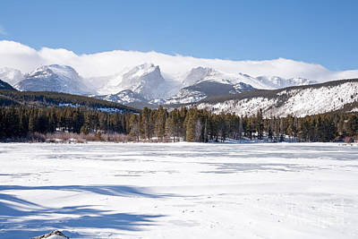 Photograph - Winter At Sprague Lake In Rocky Mountain National Park by Fred Stearns