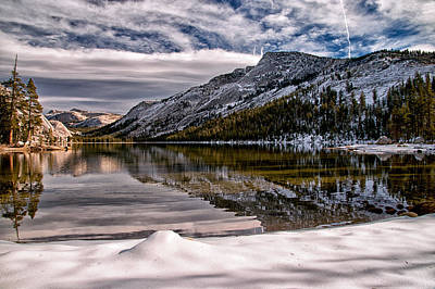 Mountians Photograph - Winter At Tenaya by Cat Connor