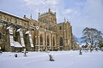 Photograph - Winter At The Abbey by Ross G Strachan