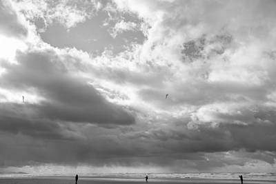 Photograph - Winter At The Beach by Kunal Mehra