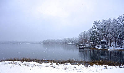 Photograph - Winter At The Lake by Charlie and Norma Brock