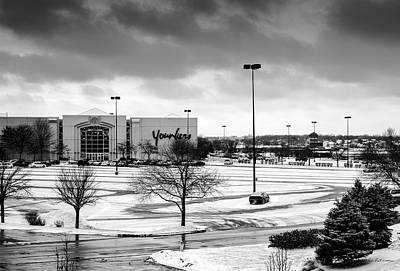 Photograph - Winter At The Mall by Edward Peterson