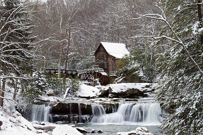 Photograph - Winter At The Mill by Daniel Houghton