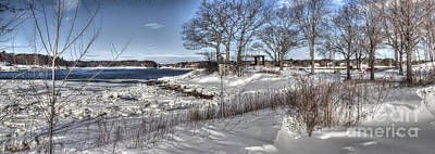 Photograph - Winter At The Point by David Bishop