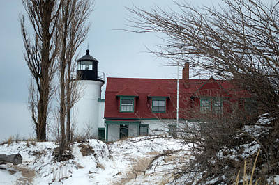 Little Mosters - Winter at the Point by Linda Kerkau