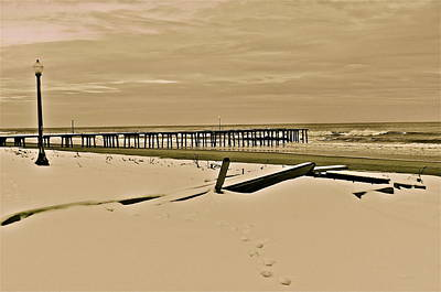 Photograph - Winter At The Shore by Joe  Burns