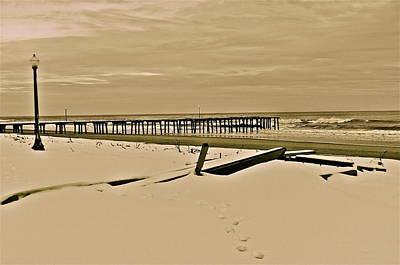 Photograph - Winter At The Shore by Joe  Burns