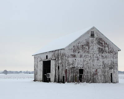 Photograph - Winter Barn 1 by Coby Cooper
