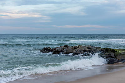 Photograph - Winter Beach Day Lavallette New Jersey by Terry DeLuco