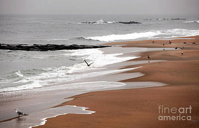 Photograph - Winter Beach Days by John Rizzuto