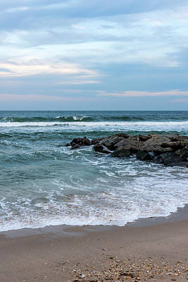 Photograph - Winter Beach Lavallette New Jersey  by Terry DeLuco