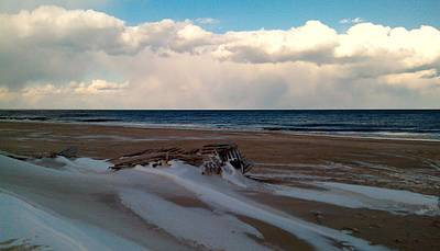 Photograph - Winter Beach by Rita Tortorelli