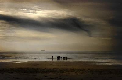Photograph - Winter Beach by Steve Ball