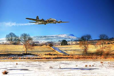 Winter Belle Art Print by J Biggadike