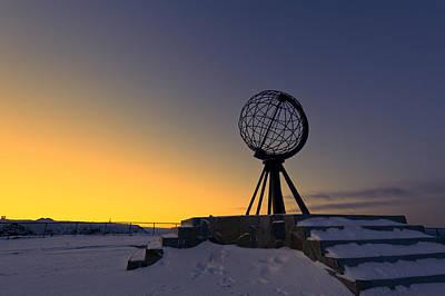 Winter Beyond The Arctic Circle Art Print