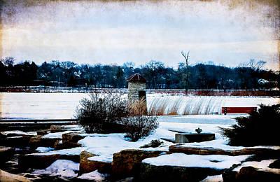 Photograph - Winter Blue by Milena Ilieva
