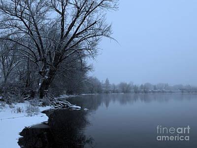 Snow Banks Photograph - Winter Blues by Carol Groenen