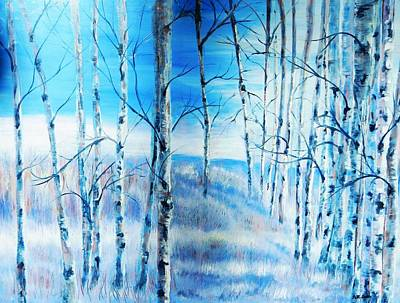 Painting - Winter Blues by Patti Gordon